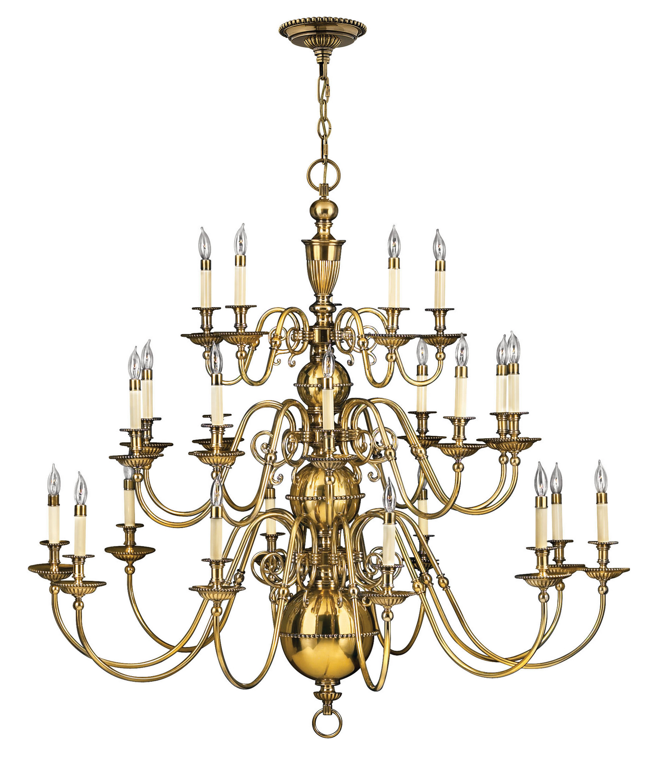 25 Light Foyer Pendant from the Cambridge collection by Hinkley 4419BB