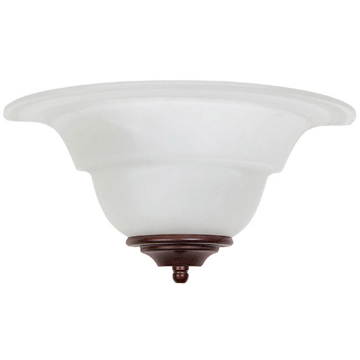 Alabaster Sconce from the Sconces Bronze collection by Capital Lighting 1722FF AL