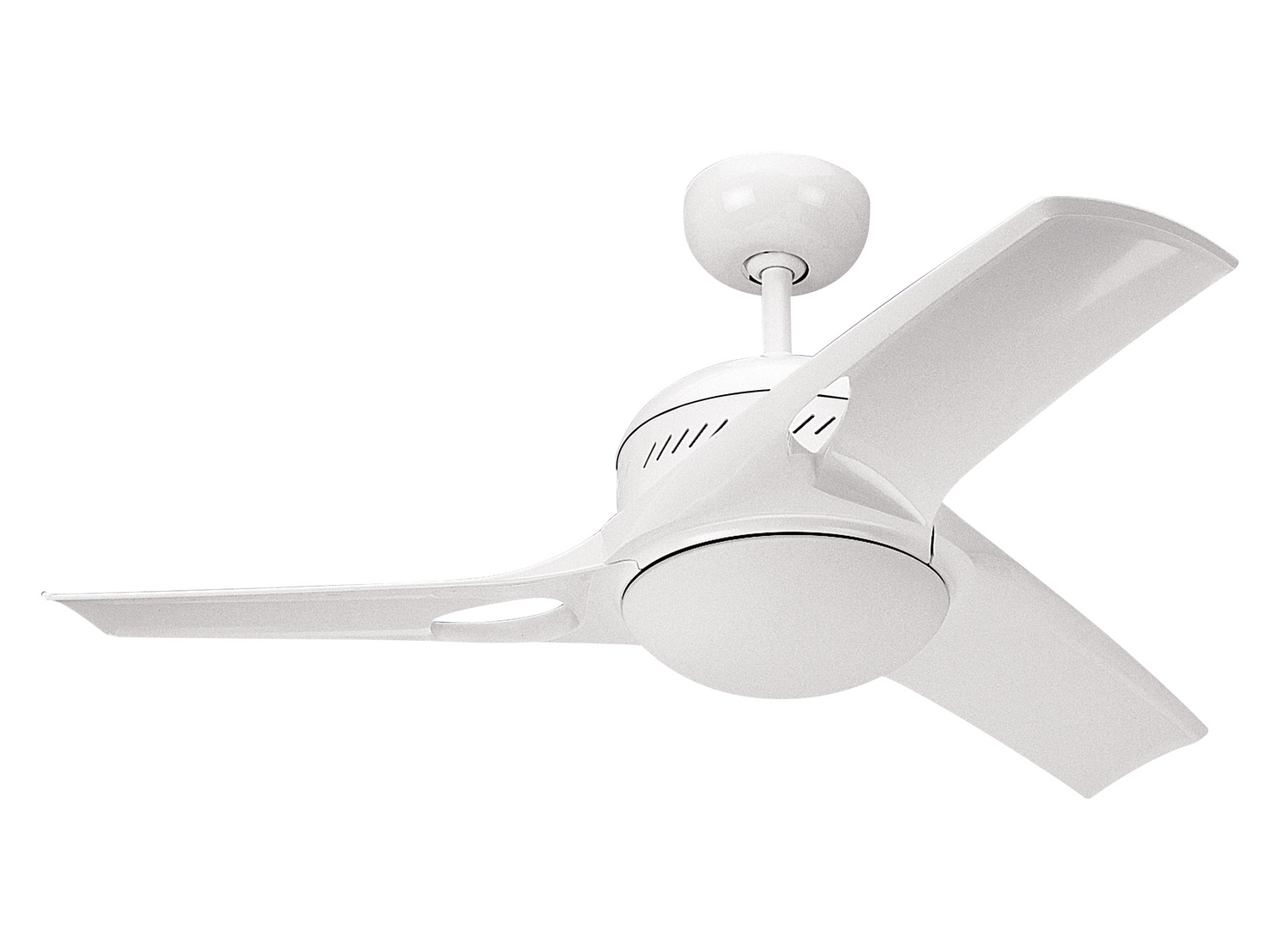 38 inchCeiling Fan from the Mach Two collection by Monte Carlo 3MTR38WHO L