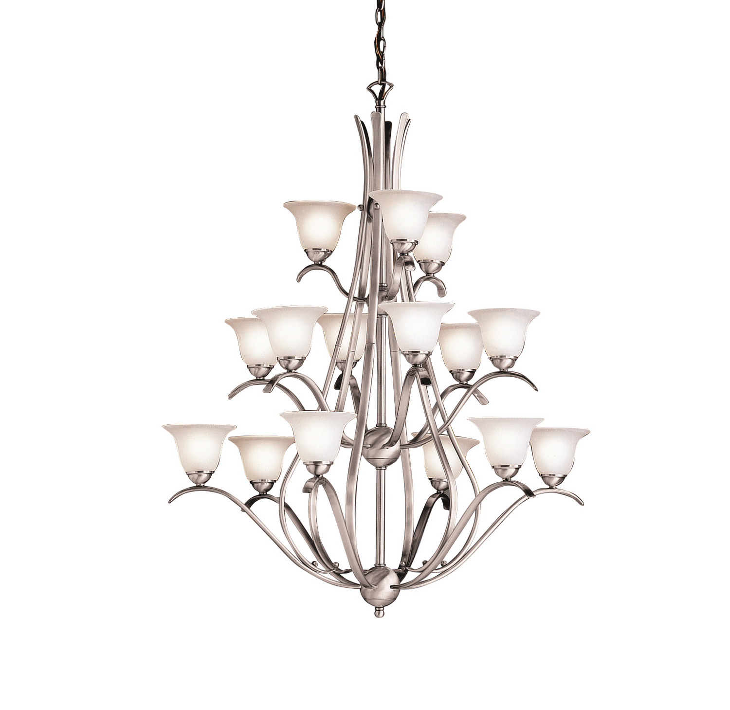 15 Light Chandelier from the Dover collection by Kichler 2523NI