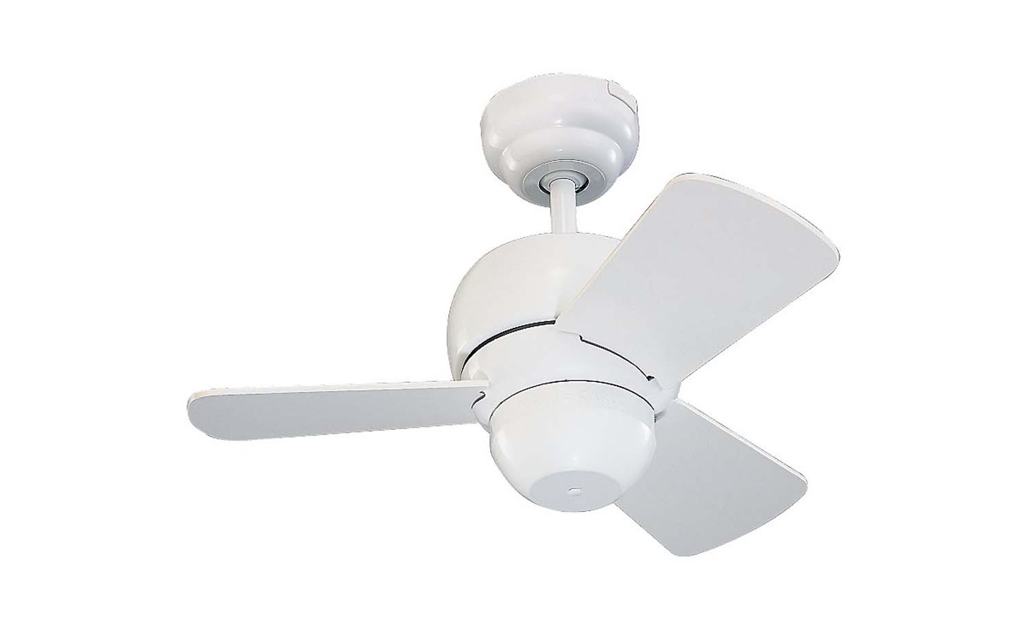 24 inchCeiling Fan from the Micro 24 collection by Monte Carlo 3TF24WH