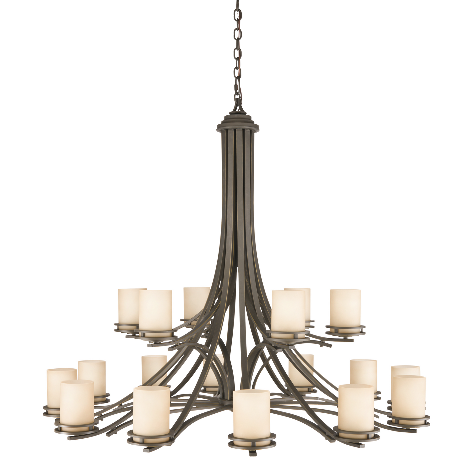 18 Light Chandelier from the Hendrik collection by Kichler 1873OZ