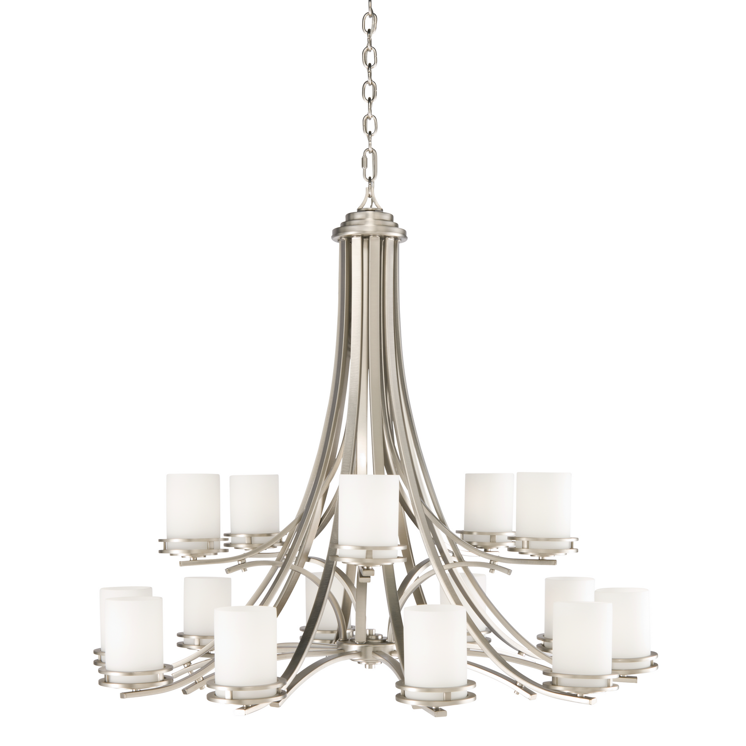 15 Light Chandelier from the Hendrik collection by Kichler 1675NI