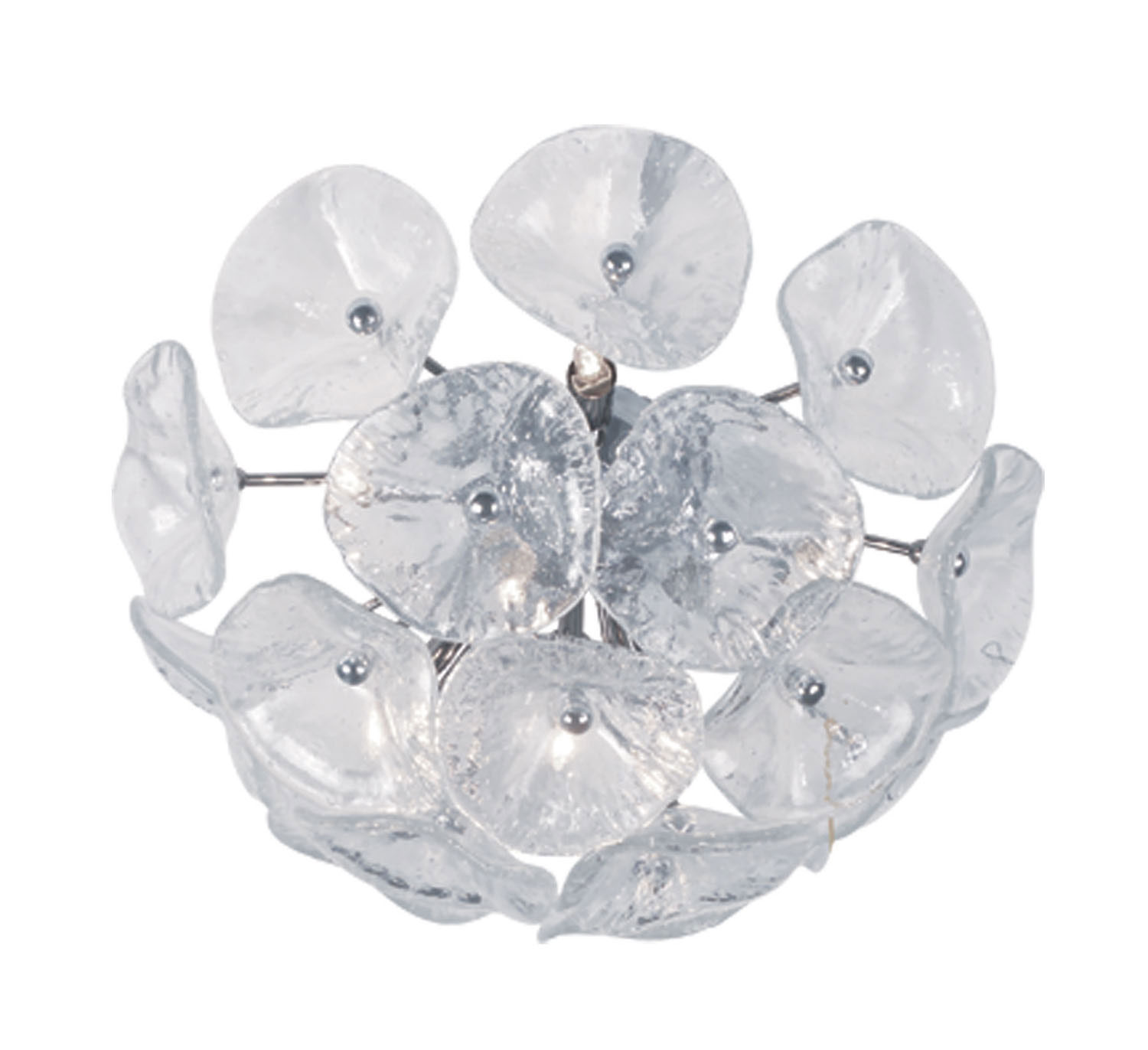 Eight Light FlushWall Mount from the Fiori collection by ET2 E22092 28