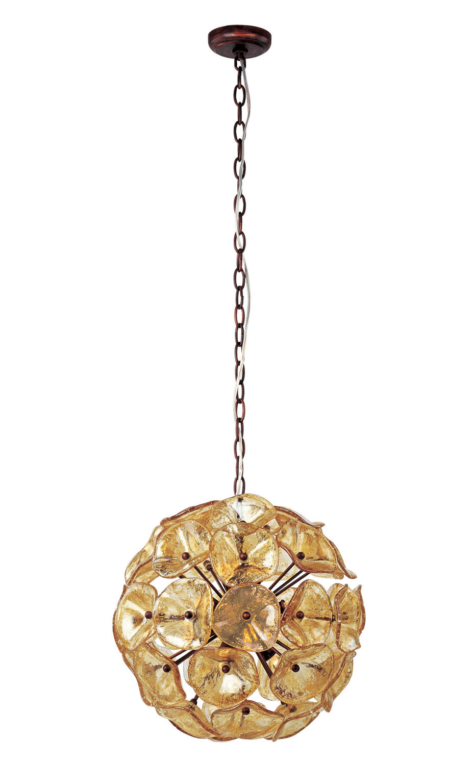 12 Light Pendant from the Fiori collection by ET2 E22093 26
