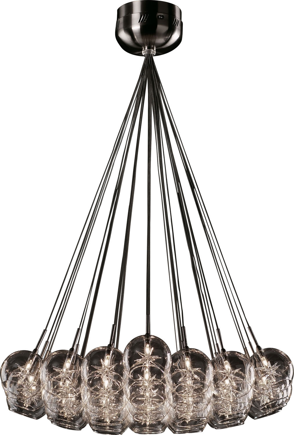 37 Light Pendant from the Starburst collection by ET2 E20112 24