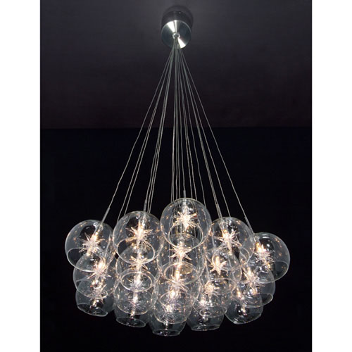 19 Light Pendant from the Starburst collection by ET2 E20113 24