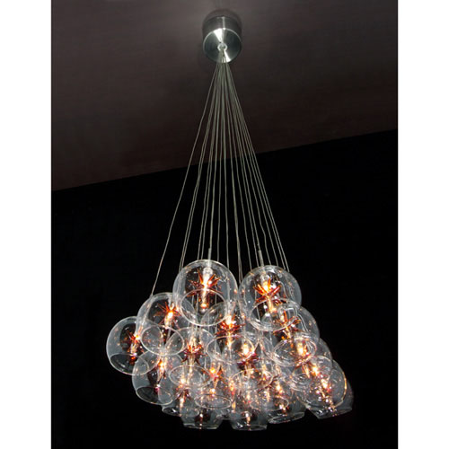 19 Light Pendant from the Starburst collection by ET2 E20113 25