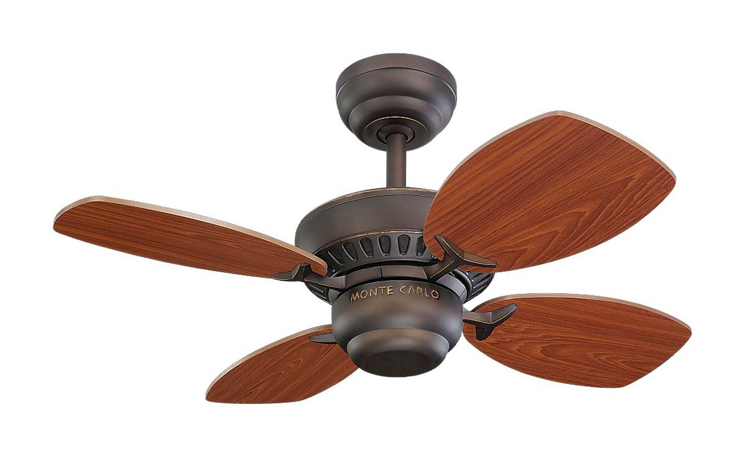 28 inchCeiling Fan from the Colony II collection by Monte Carlo 4CO28RB