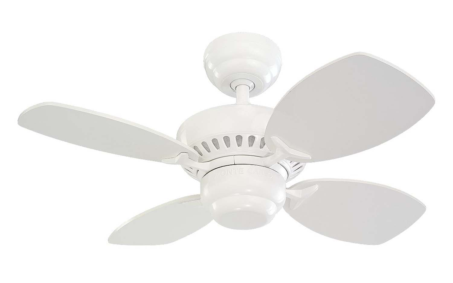28 inchCeiling Fan from the Colony II collection by Monte Carlo 4CO28WH
