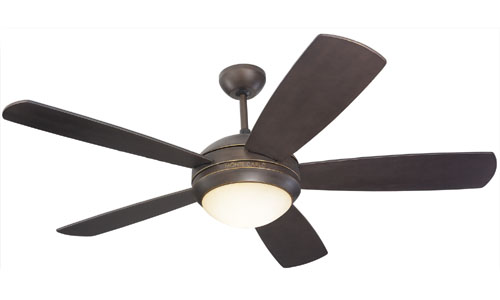 52 inchCeiling Fan from the Discus collection by Monte Carlo 5DI52RBD L