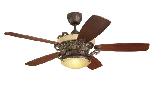 56 inchCeiling Fan from the Strasburg collection by Monte Carlo 5SBR56TBD L