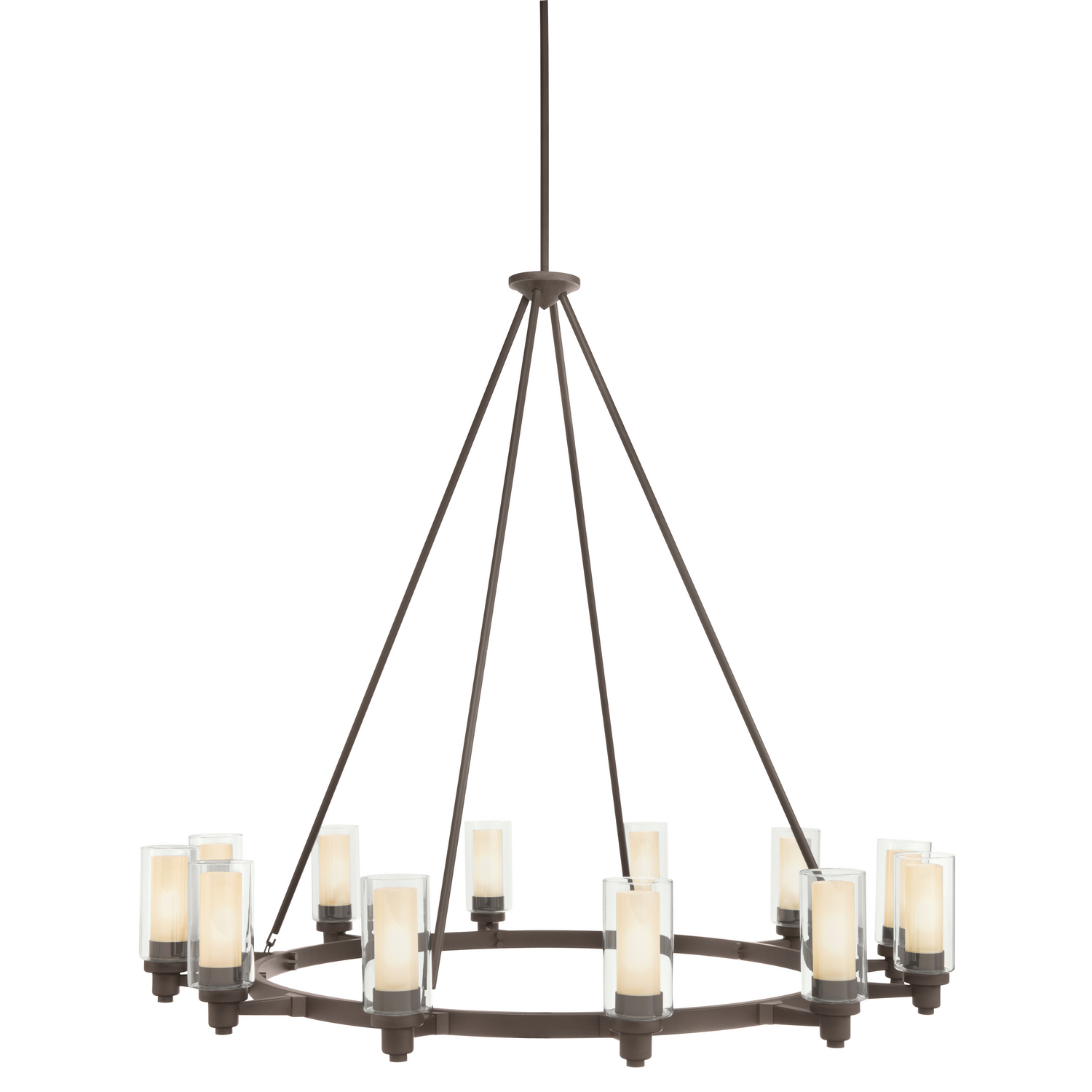 12 Light Chandelier from the Circolo collection by Kichler 2347OZ
