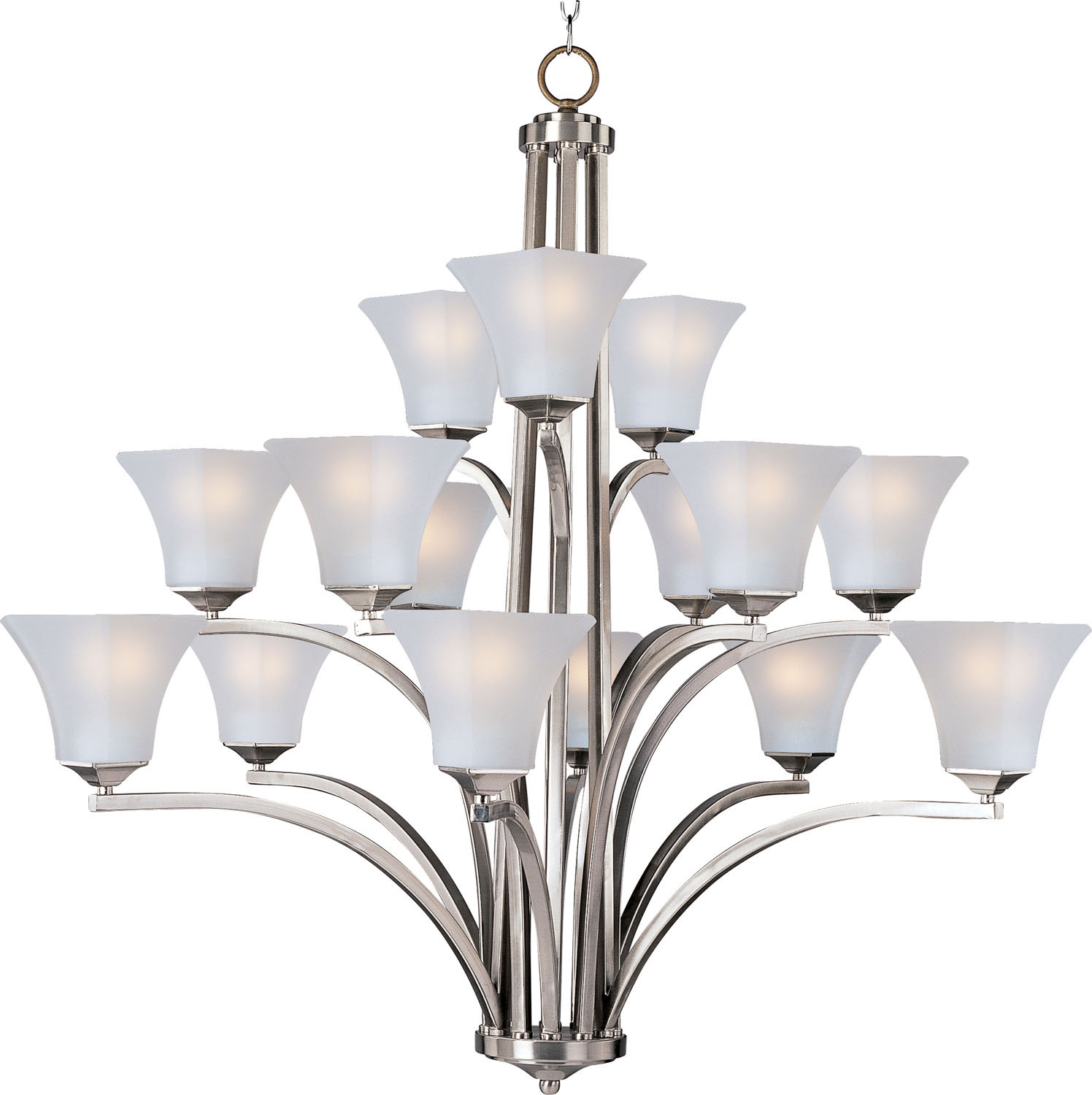 15 Light Chandelier from the Aurora collection by Maxim 20097FTSN