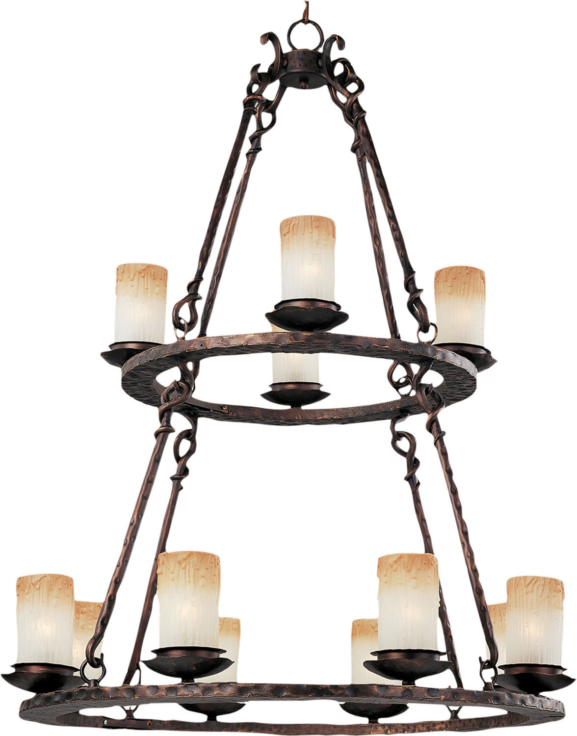 12 Light Chandelier from the Notre Dame collection by Maxim 10977WSOI