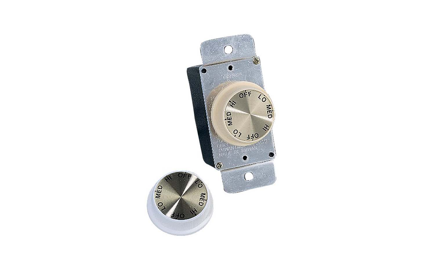 3 Speed Rotary Wall Control from the Wall Controls collection by Monte Carlo ESWC 1