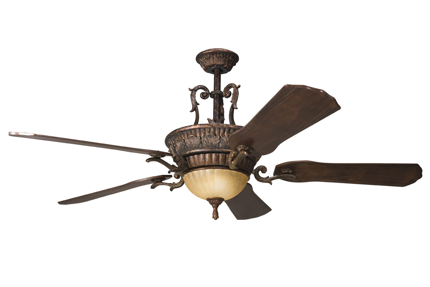 60 inchCeiling Fan from the Kimberley collection by Kichler 300008BKZ