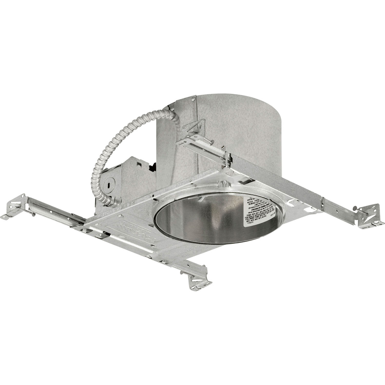 6inch Shallow New Construction Ic Non Ic Housing From The Recessed Housing Collection By Progress Canada P86 Tg