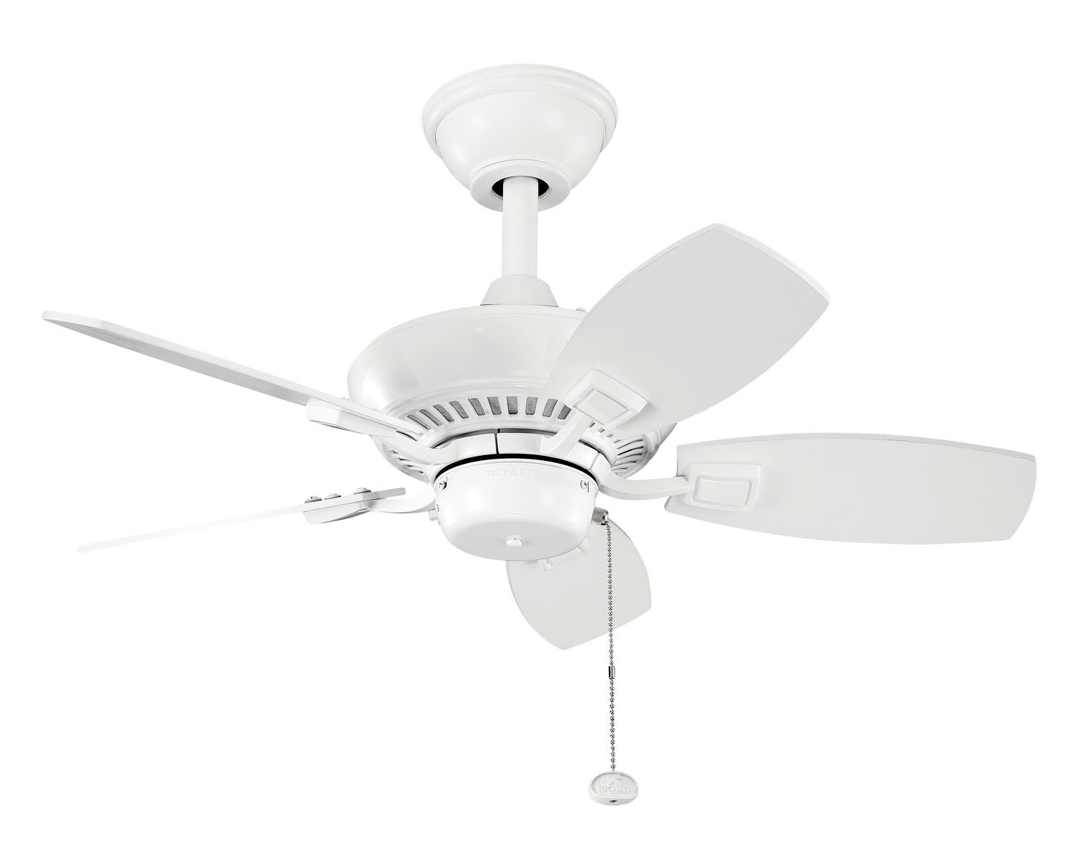 30 inchCeiling Fan from the Canfield collection by Kichler 300103WH