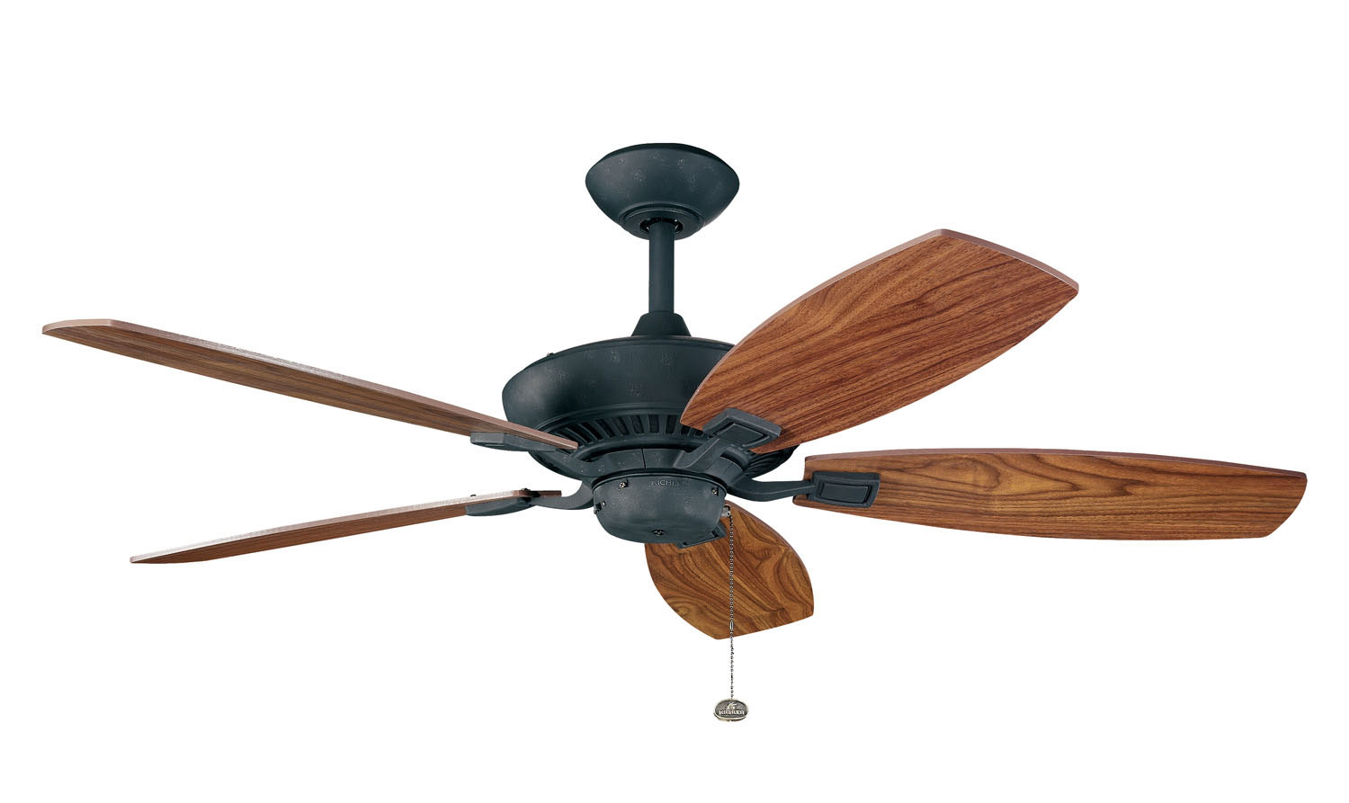 52 inchCeiling Fan from the Canfield collection by Kichler 300117DBK