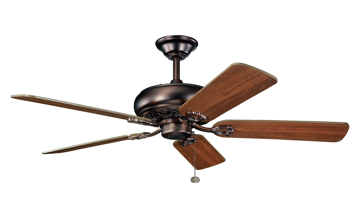 52 inchCeiling Fan from the Bentzen collection by Kichler 300118OBB
