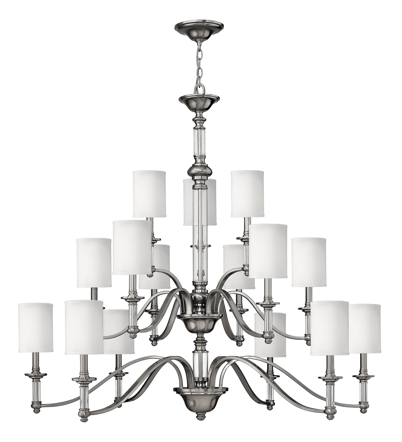 15 Light Foyer Pendant from the Sussex collection by Hinkley 4799BN
