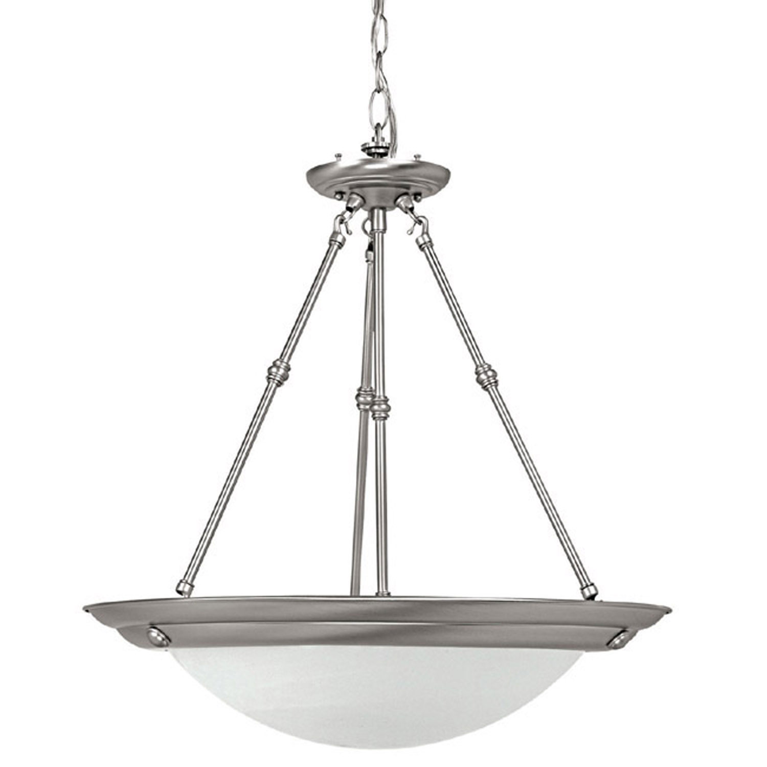 Three Light Ceiling Pendant With Canopy Kit