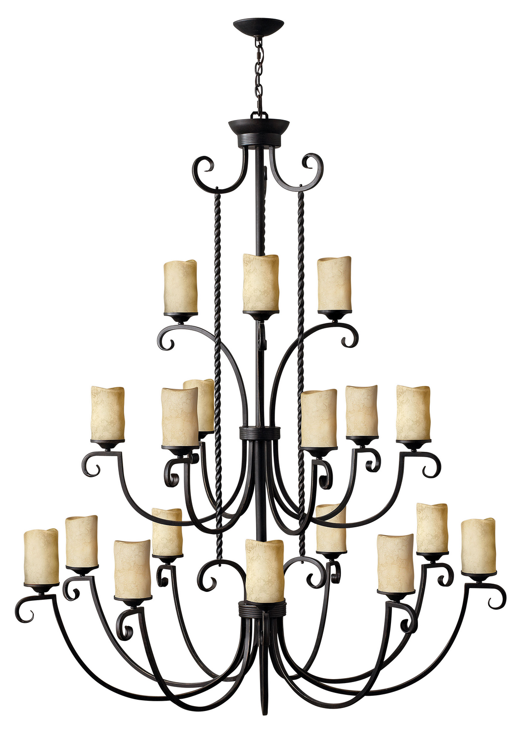 18 Light Foyer Pendant from the Casa collection by Hinkley 4309OL