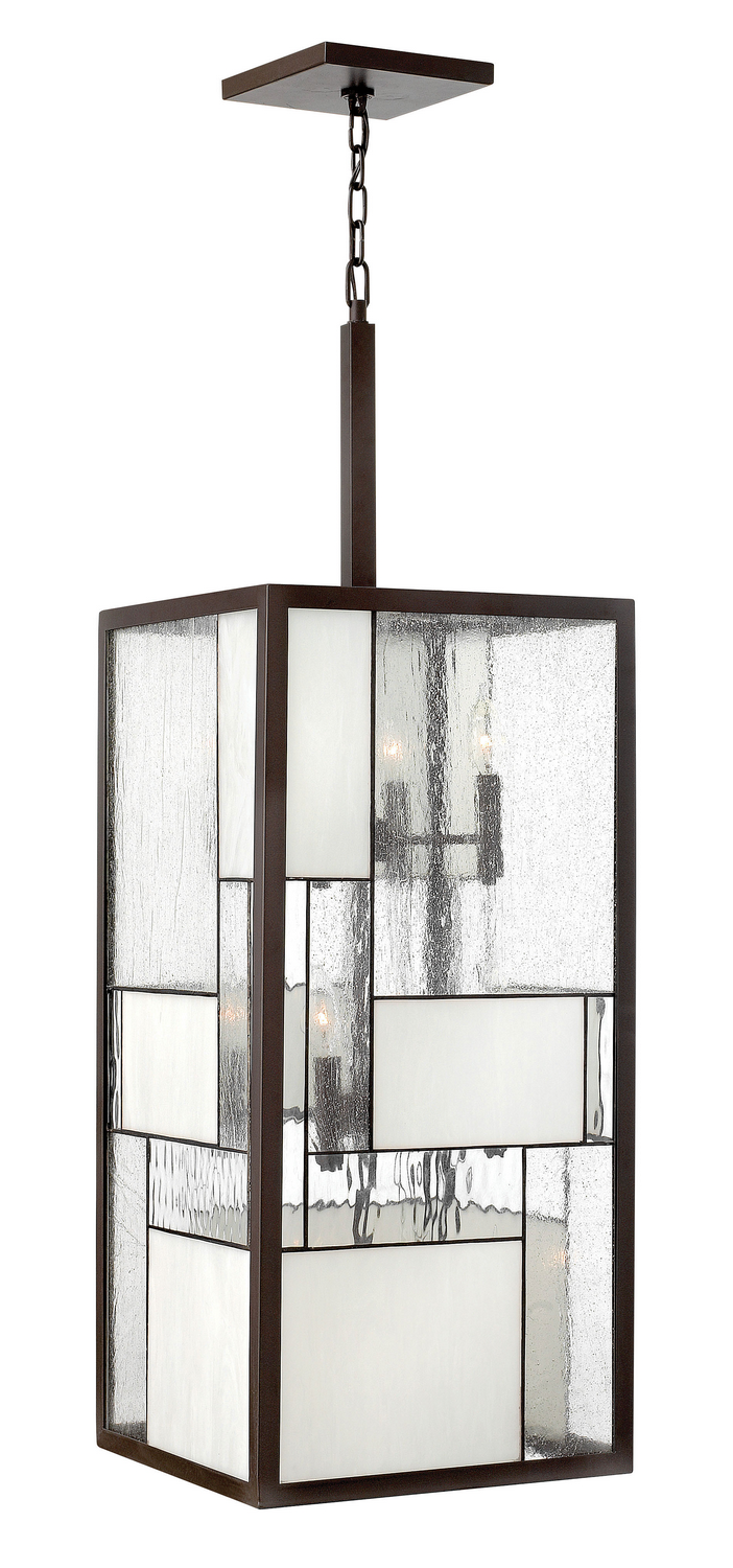 12 Light Foyer Pendant from the Mondrian collection by Hinkley 4576KZ