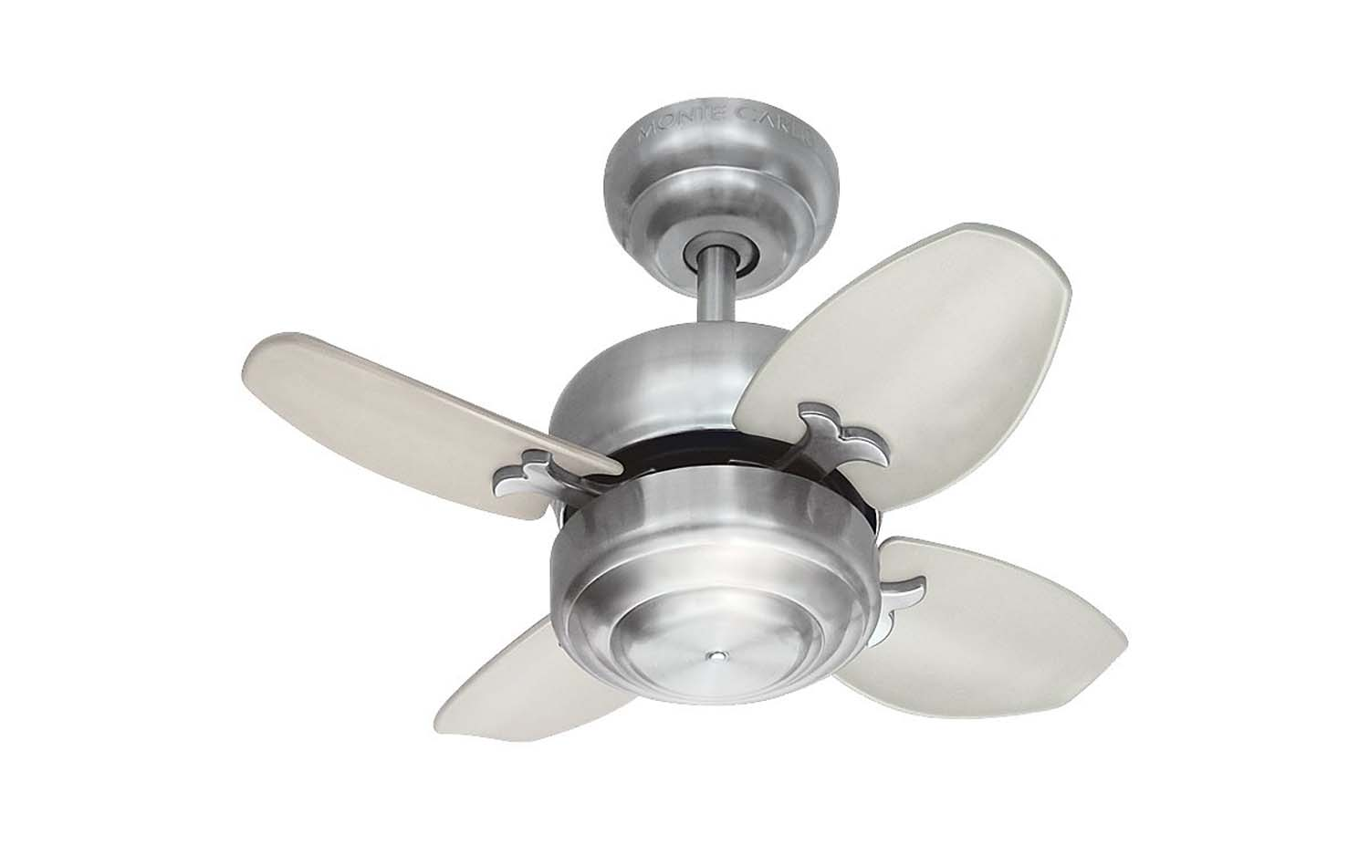 20 inchCeiling Fan from the Mini 20 collection by Monte Carlo 4MC20BS