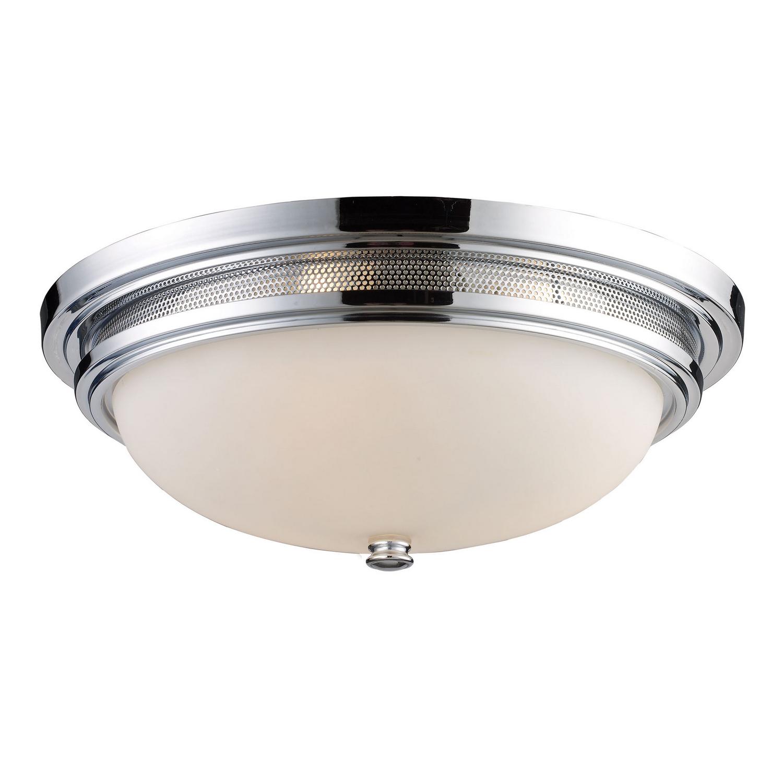 Brushed Nickel Progress Lighting P3659-0930K9 Contemporary//Soft 1-17W Led 3000K Flush Mount
