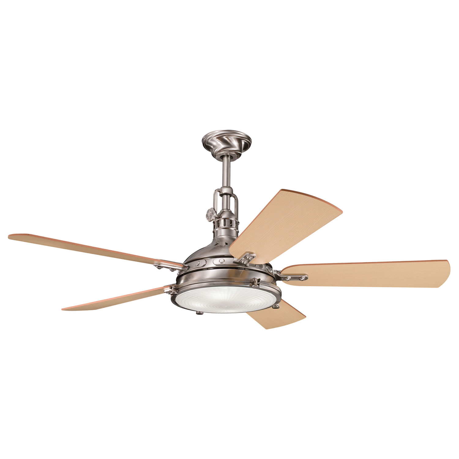 56 inchCeiling Fan from the Hatteras Bay collection by Kichler 300018BSS