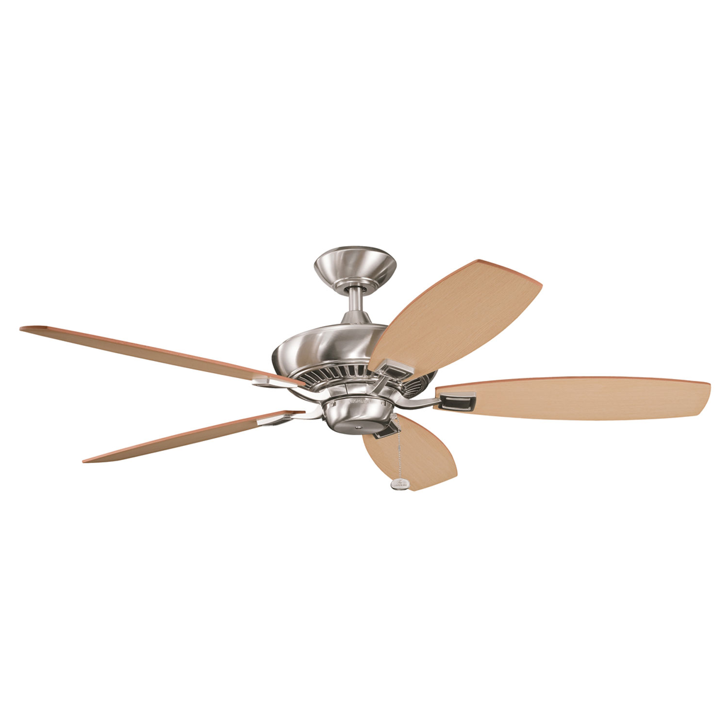 52 inchCeiling Fan from the Canfield collection by Kichler 300117BSS