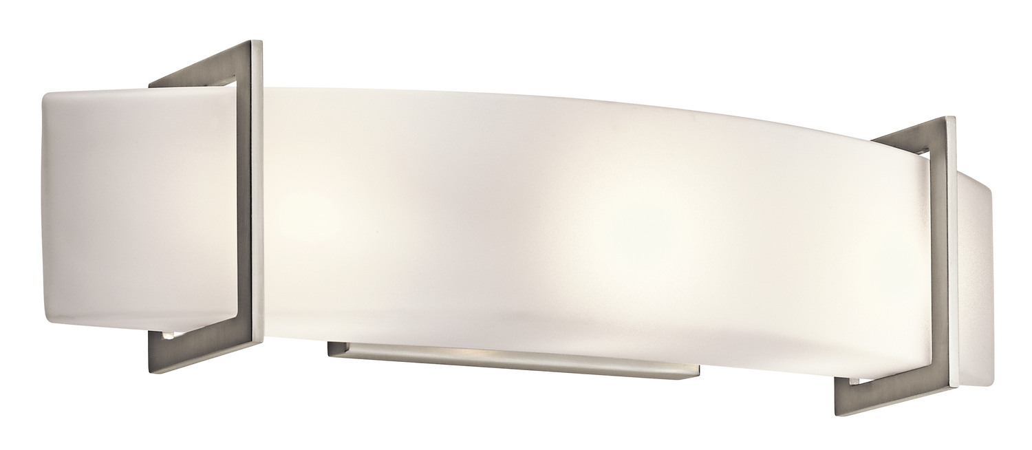 Three Light Linear Bath From The Crescent View Collection By Kichler 45220ni