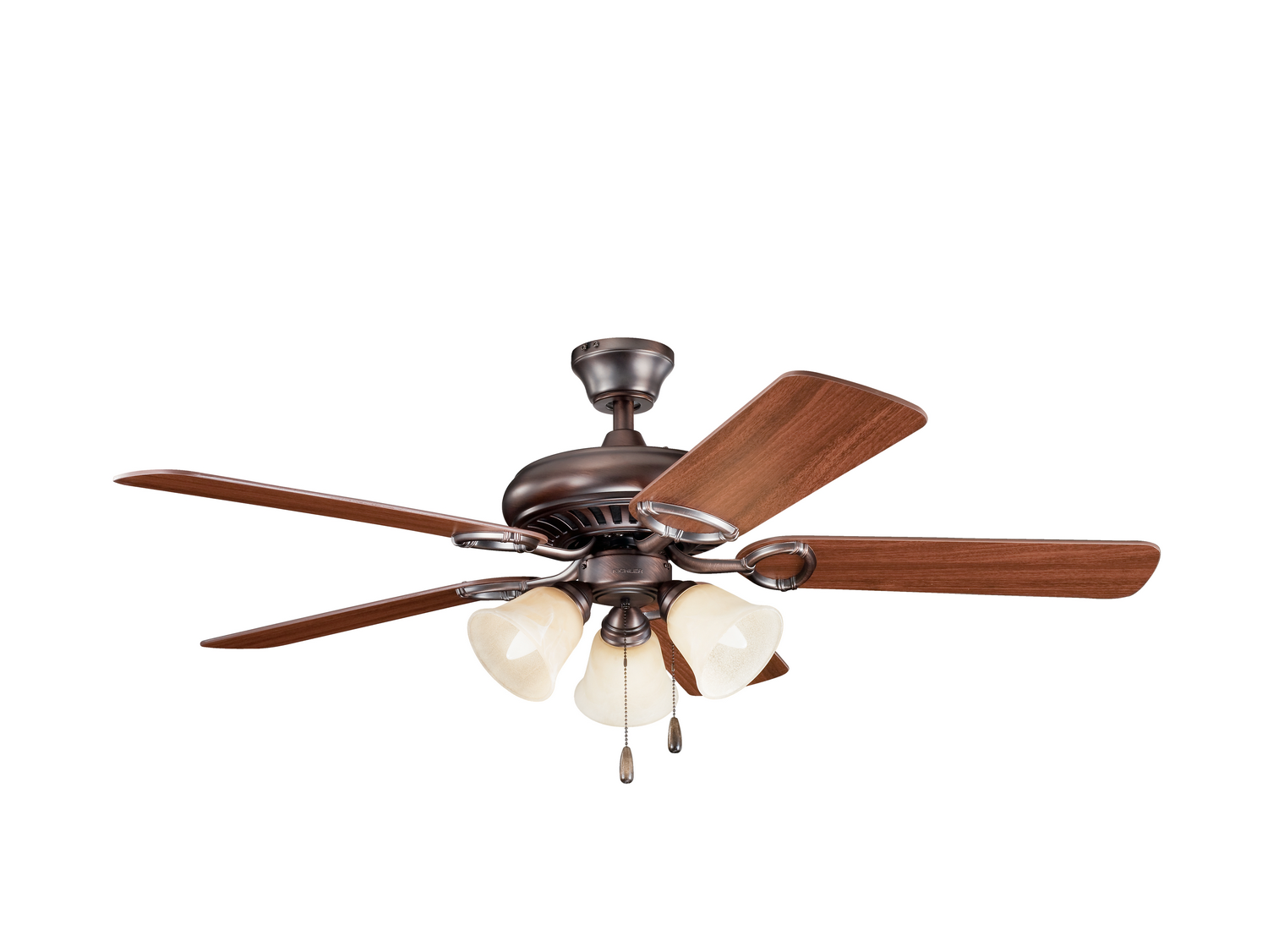 52 inchCeiling Fan from the Sutter Place Premier collection by Kichler 339400OBB