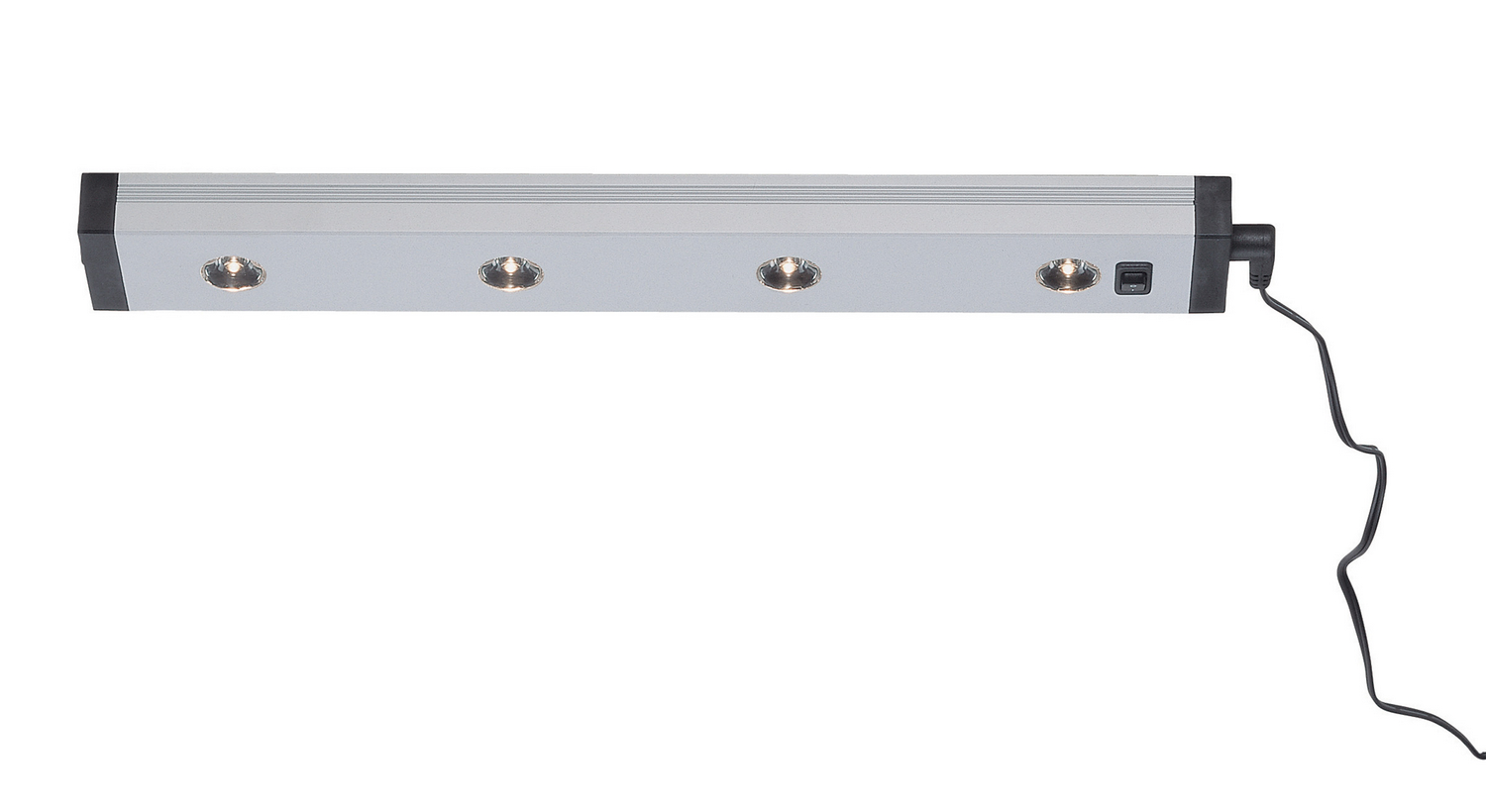 Picture of: Four Light Led Under Cabinet Light With Connector From The Teko Collection By Lite Source Ls 1241