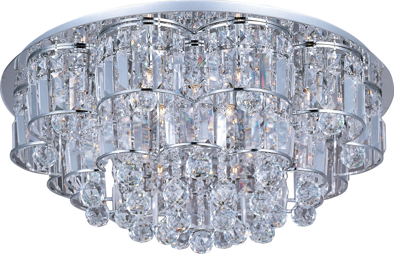 20 Light Flush Mount from the Bangle collection by ET2 E23258 20PC