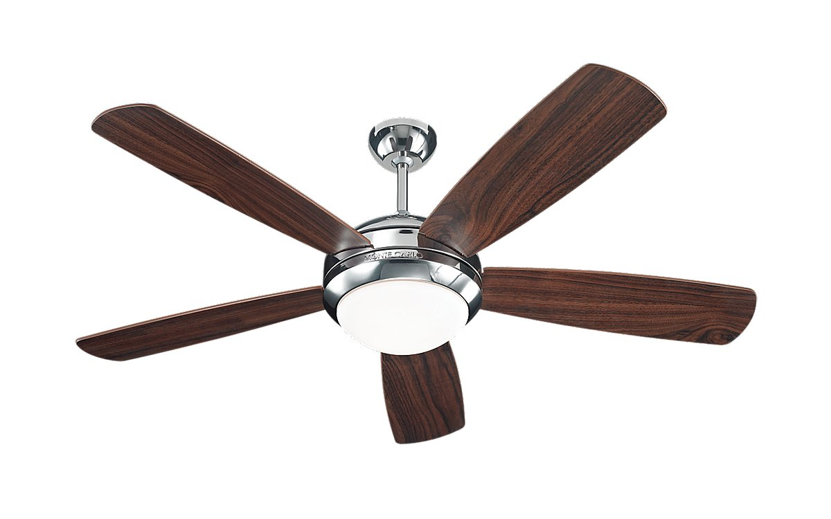 52 inchCeiling Fan from the Discus collection by Monte Carlo 5DI52PND