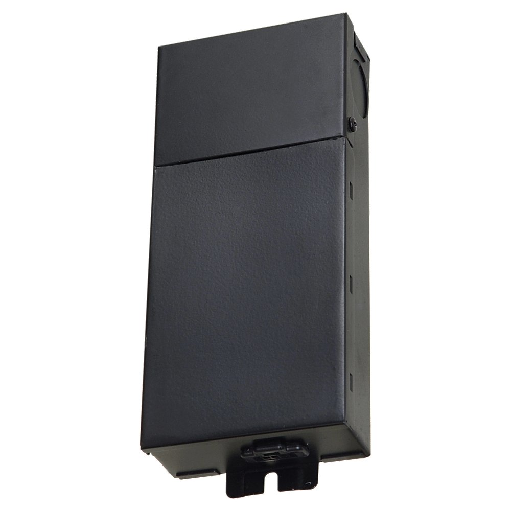 60w LED Power Supply black finish input 120277 output 24VDC from the Ambiance LED Under Cabinet collection by Seagull 98620S 12