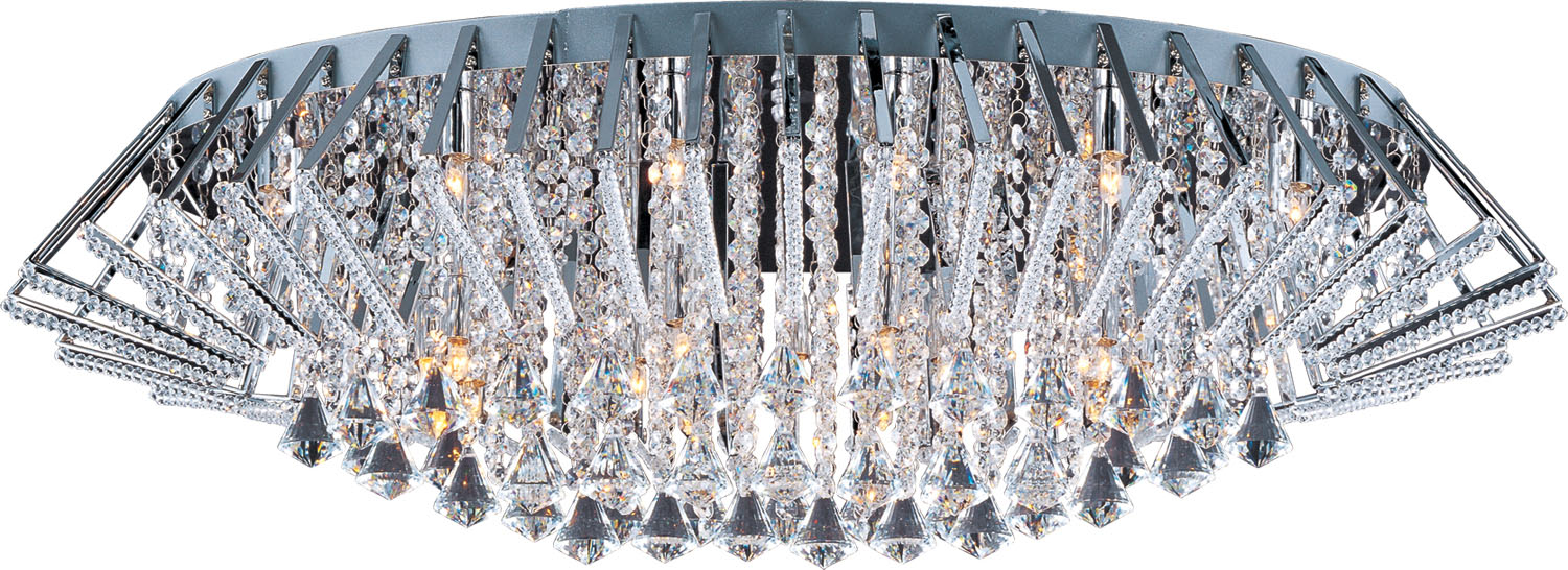25 Light Flush Mount from the Zen collection by ET2 E20404 20PC