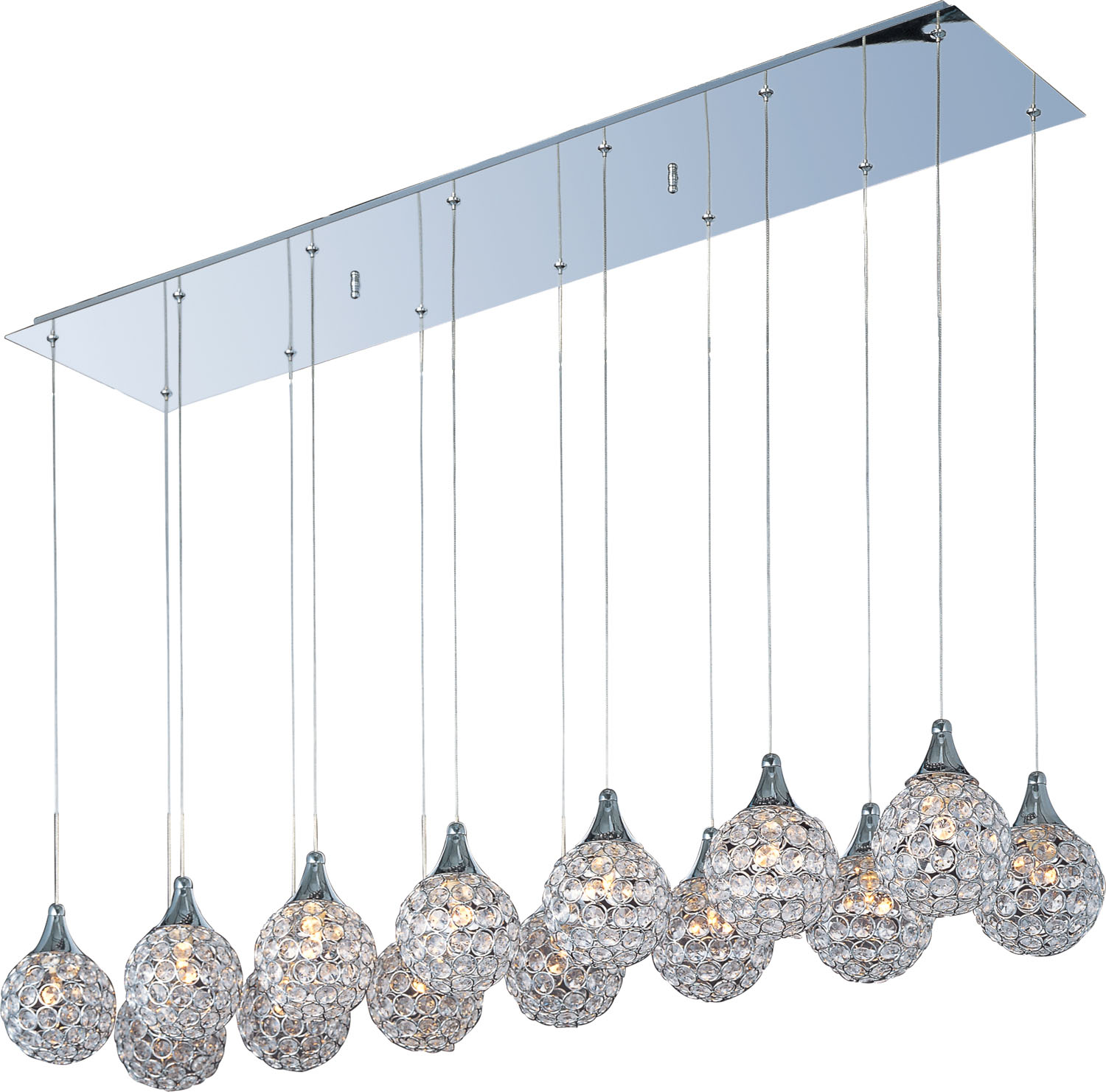 14 Light Pendant from the Brilliant collection by ET2 E24029 20PC