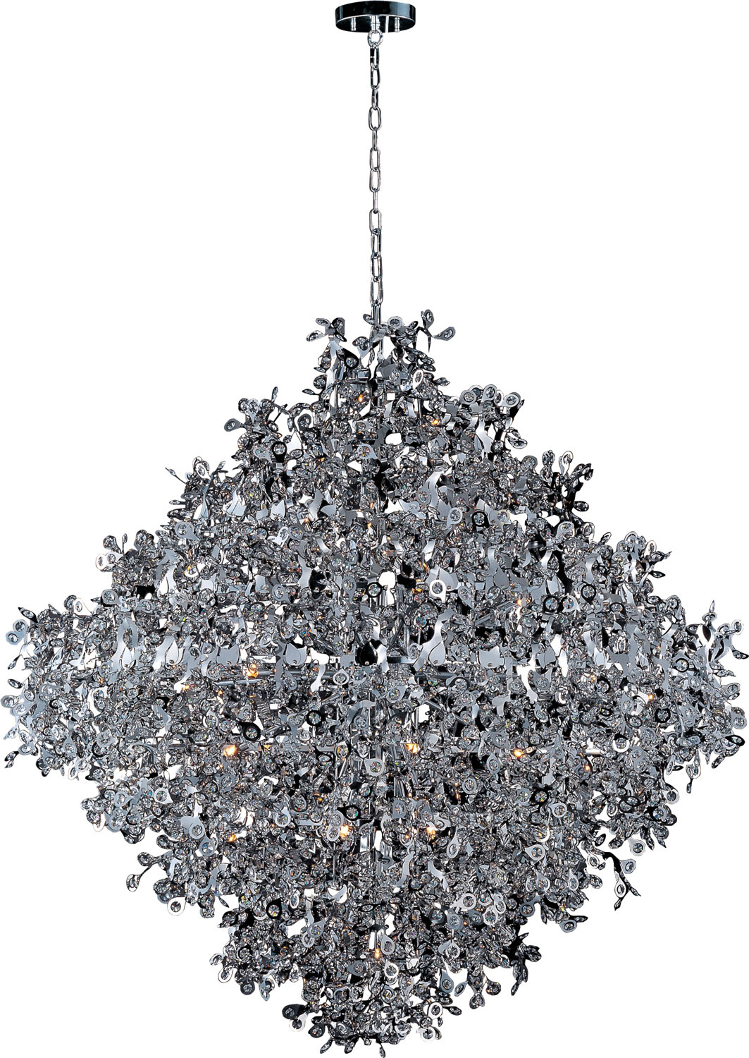 21 Light Pendant from the Comet collection by Maxim 24209BCPC