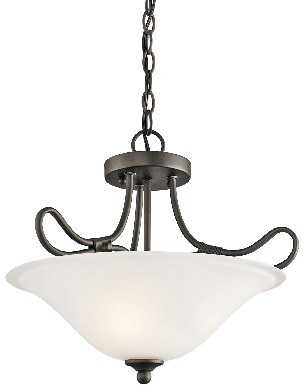 Two Light Pendant/Semi Flush Mount