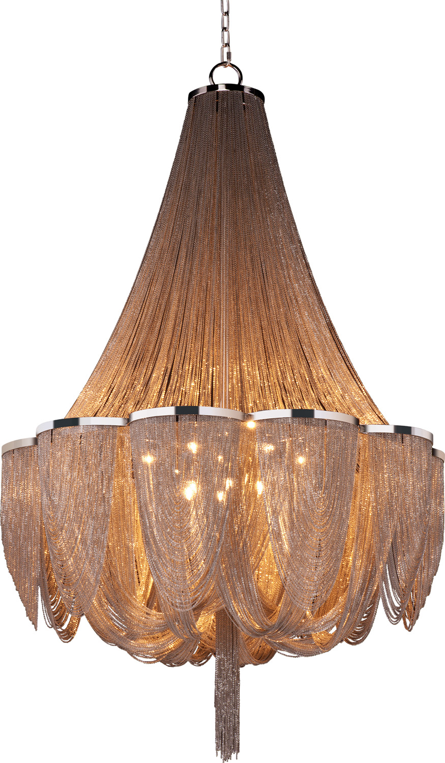 14 Light Chandelier from the Chantilly collection by Maxim 21467NKPN