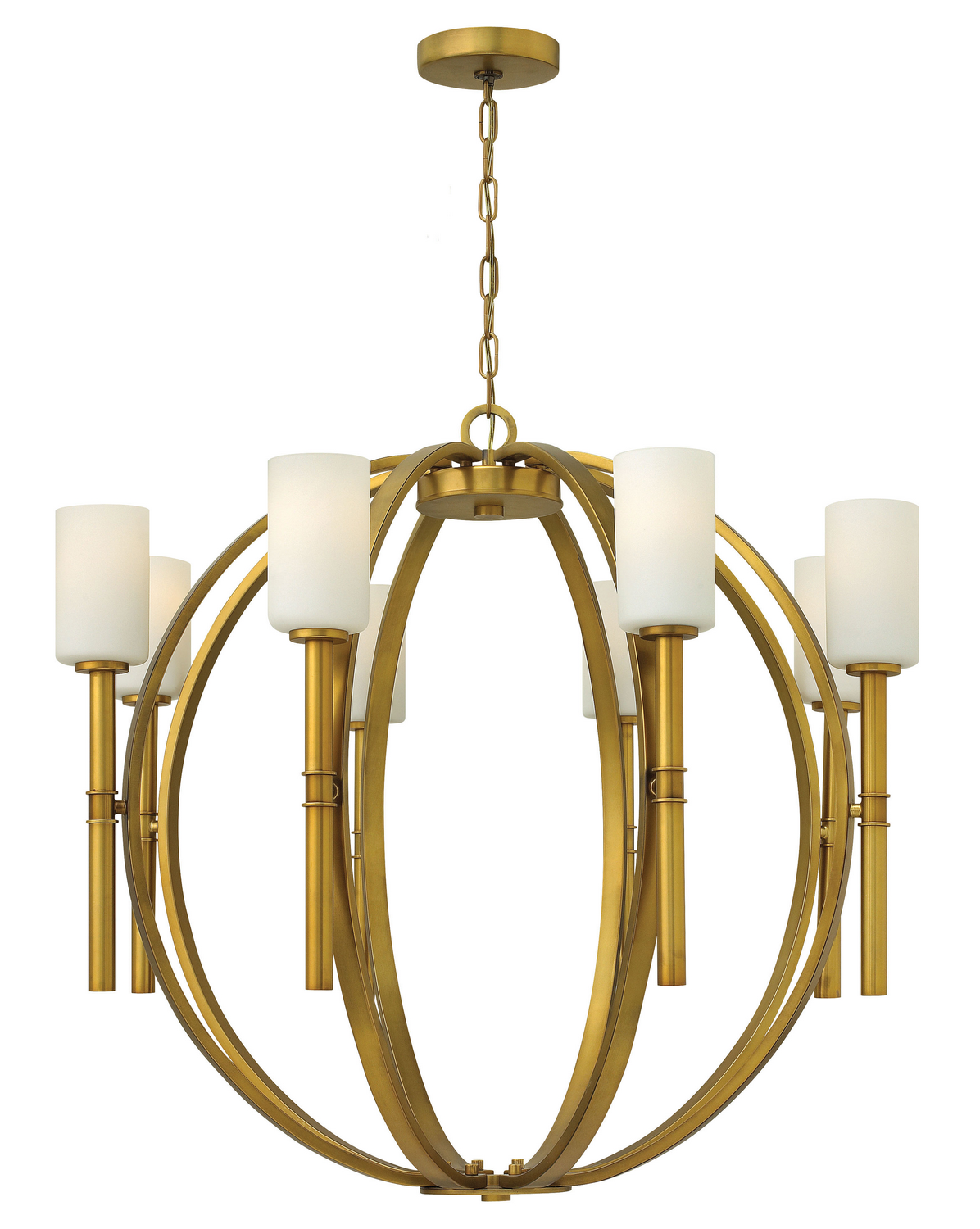 Eight Light Chandelier from the Margeaux collection by Hinkley 3588VS