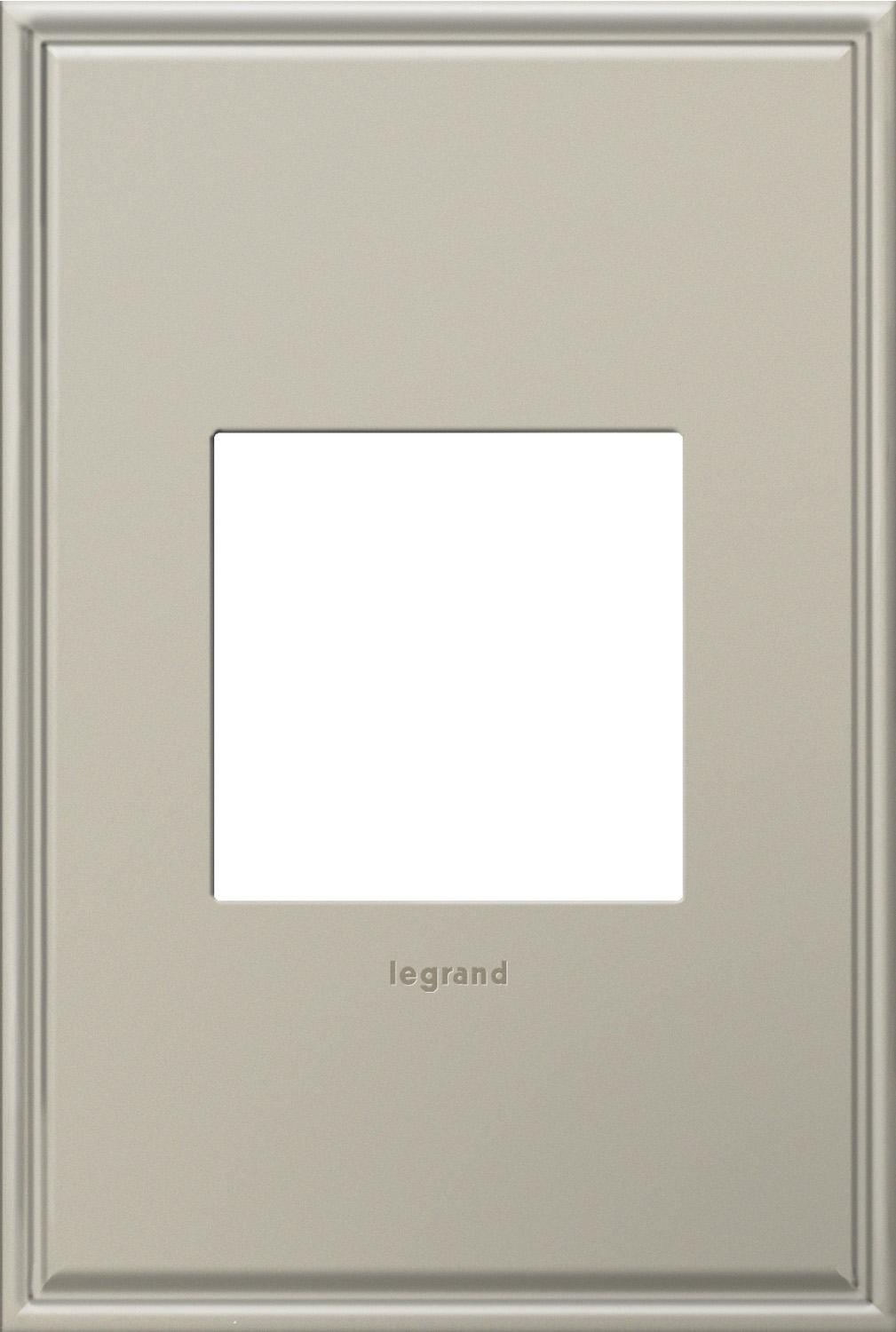 1 Gang Wall Plate from the Cast Metals collection by Legrand AWC1G2AN4