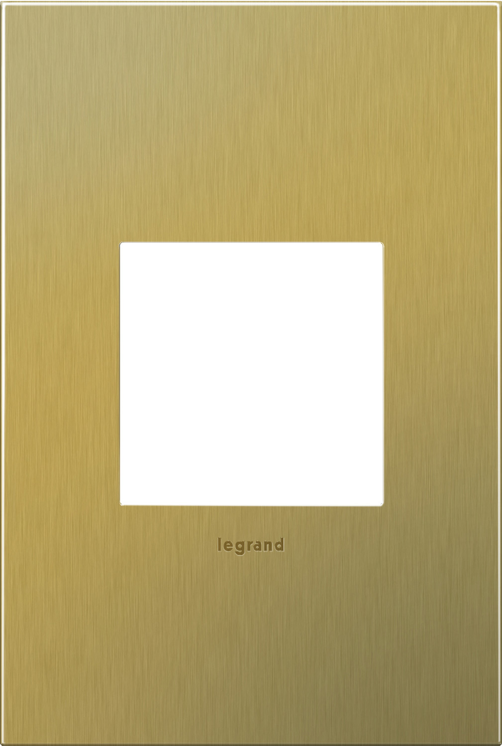 1 Gang Wall Plate from the Cast Metals collection by Legrand AWC1G2BB4
