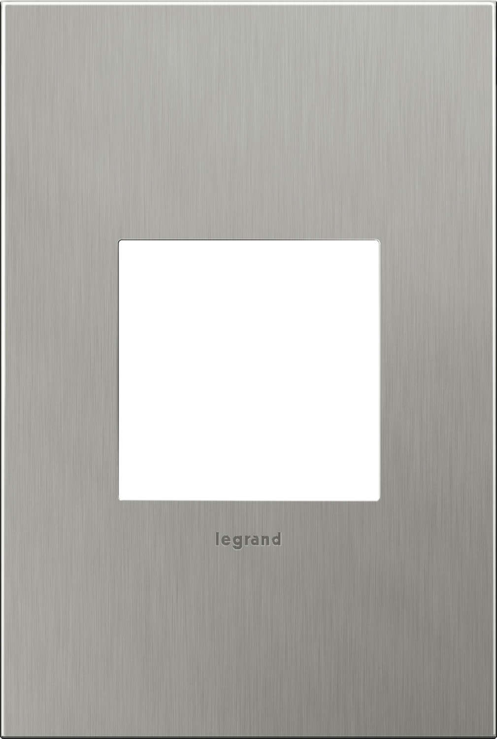 1 Gang Wall Plate from the Cast Metals collection by Legrand AWC1G2BS4