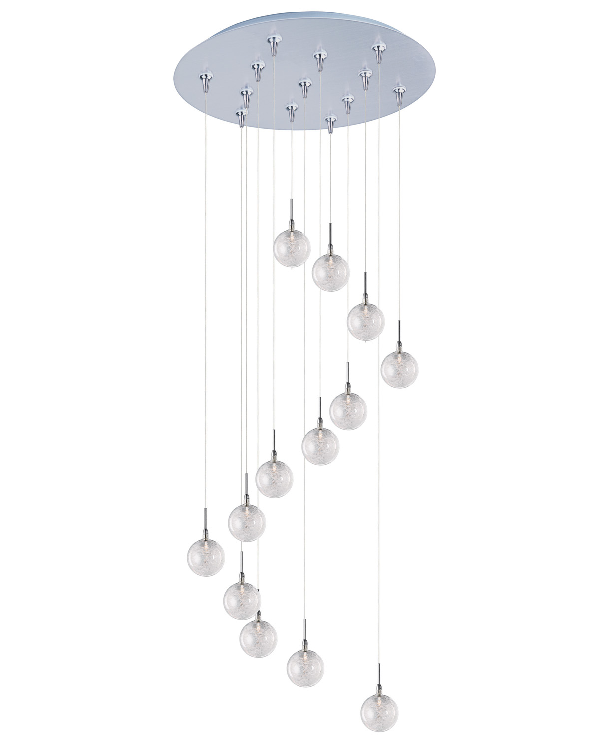 13 Light Pendant from the Starburst collection by ET2 E93872 79SN