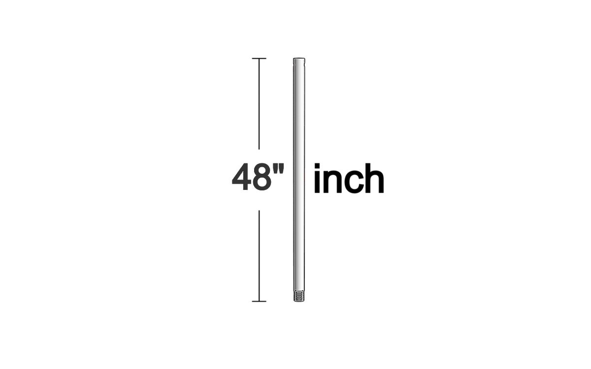 Downrod from the Downrod collection by Monte Carlo DR48PN